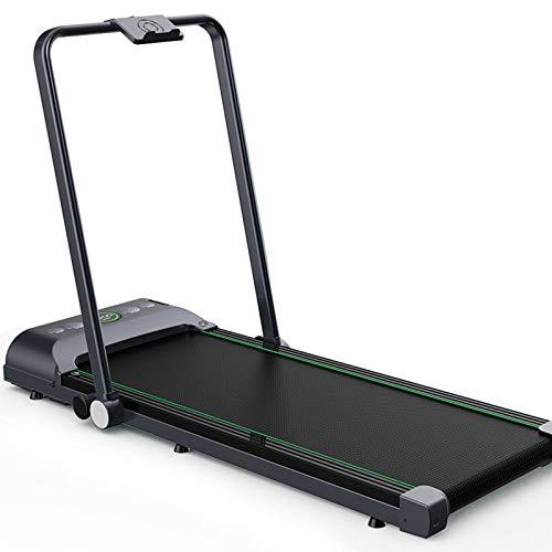 Klappbares Laufband unter dem Schreibtisch, Laufband für den Haushalt, Laufgerät, Fitness-Trainingsgeräte zur Gewichtsreduktion für zu Hause, Tablet-Unterstützung, Stoßdämpfungssystem, Gewicht: 200