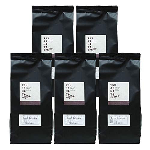 カフェインレスコーヒー【デカフェ・コロンビア 1kg 200g×5袋】 (豆のまま)