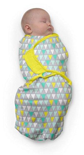 Baby Studio swaddlewrap (0 à 3 mois, petit, les Carnavals Vert)
