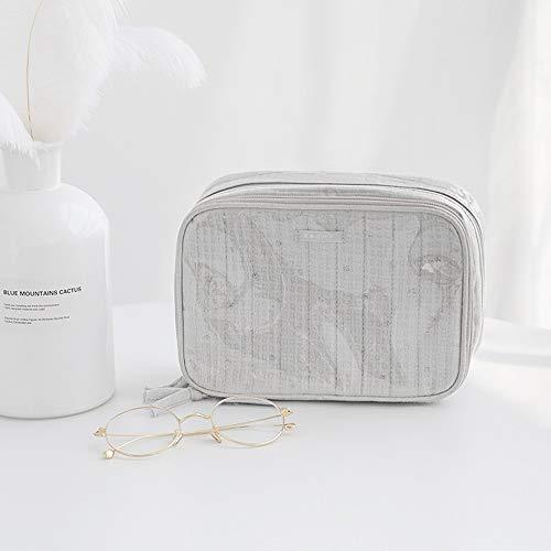 Kcakek Grote capaciteit Women's Oblique Cross make-up tas Waterproof Wash rugzak Portable Cosmetische Backpack draagbare make-up tas Simple Dustproof Storage Bag