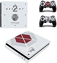 Bafna Anusha PS4 Slim Unique Skin Decal Stickers Set for PlayStation Console Controllers Video Game HD Printing