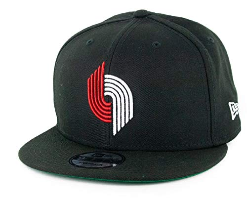New Era Portland Trail Blazers HWC Team Basic Black Hardwood Classic Nights Snapback Cap 9fifty 950 OSFA NBA