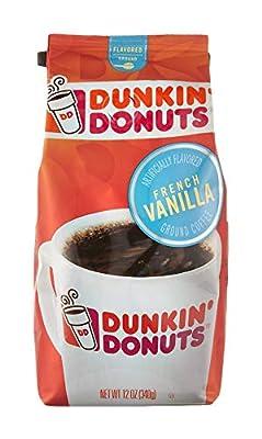 Dunkin Donuts French Vanilla Flavoured Ground Coffee 340g