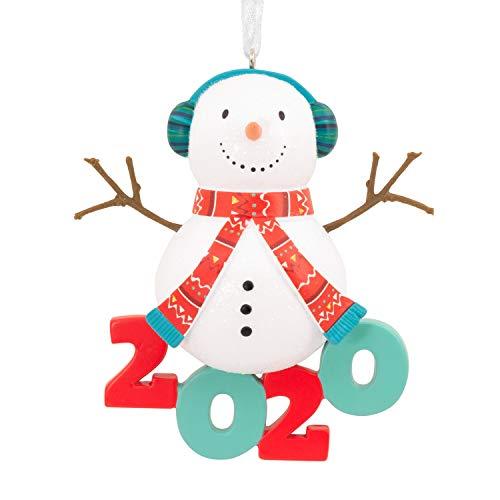 Hallmark Christmas Ornament 2020 Year-Dated, Jolly Snowman