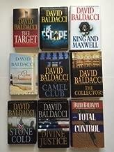 David Baldacci (Set of 9) Target; Escape; King & Maxwell; One Summer; Camel Club...