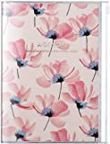 MARK'S 2020 Taschenkalender A5 vertikal, Flower Pattern Pink