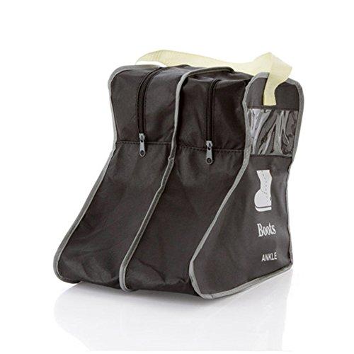TININNA Classic no tejido cortavientos antipolvo Puerta Zapatos Bolsa para almacenamiento bolsa...