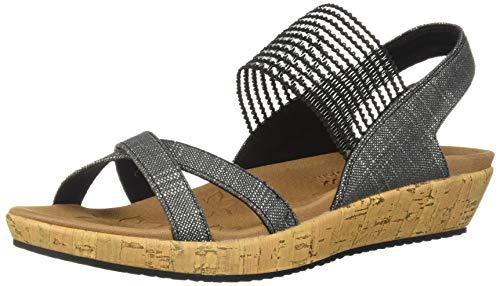 Skechers Brie, Sandalias de Punta Descubierta para Mujer