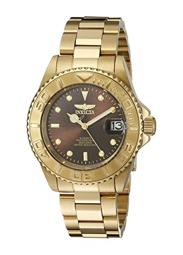 Invicta Men's 15847 Pro Diver Analog Display Japanese Automatic Gold Watch