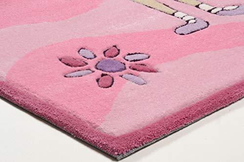 Kinderteppich Maui (rosa) - 3