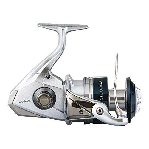 Shimano Saragosa SW A Saltwater Spinning Reel, SRG8000SWAHG