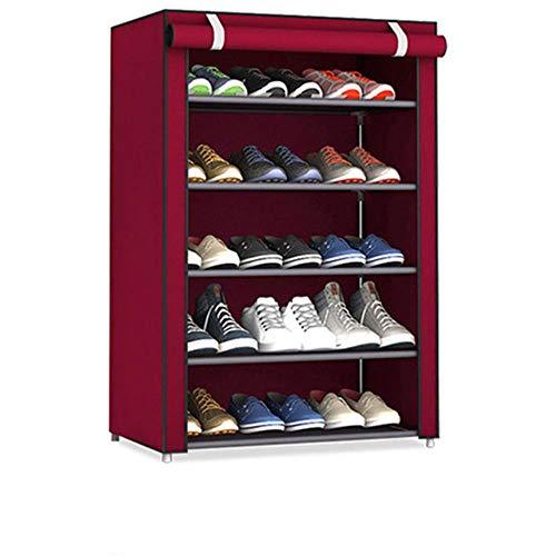 Gran venta tela no tejida almacenamiento zapatero montar zapatos estante DIY casa re-30X60X90cm, ESPAÑA