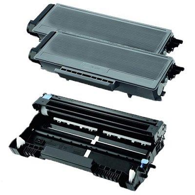 2 TONER COMPATIBILI + 1 TAMBURO DRUM per Brother TN-3280 / DR-3200 / DCP-8070D / DCP-8085DN / DCP-8880DN / DCP-8890DW / HL-5340D / HL-5340DL / HL-5350DN / HL-5350DNLT / HL-5370DW / HL-5380DN / MFC-8370DN / MFC-8380DN / MFC-8880DN / MFC-8890DW