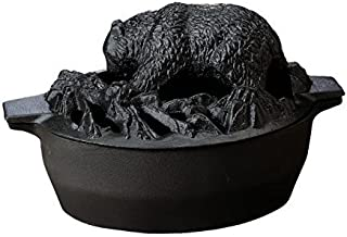 John Wright Hearth Black Matte Bear Steamer