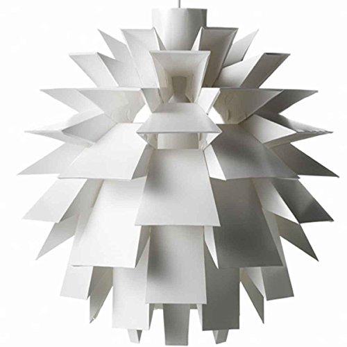 Normann Copenhagen Lampe Norm 69 Large in weiß mit Fassung: E-27