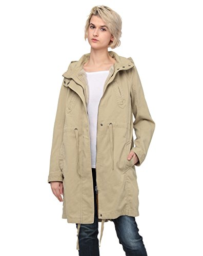 United Colors of Benetton Heavy Jacket, Chaqueta para Mujer, Beige (Incense 393), 46