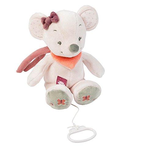 Nattou- Adele and Valentine NA424042-Alfombras de Juego y gimnasios, Color ratón (424042) (Producto para bebé)