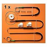 SHENYF for VW Passat regulador de la Ventana Kit de reparación Delantera del Lado Derecho Nuevo Conjunto 1996-2005