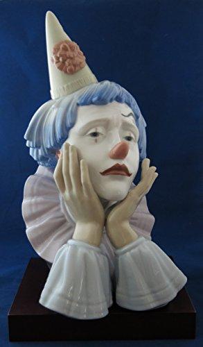 Lladro Figurine 5129 Clown Head