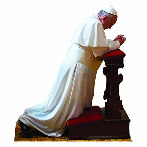 Wet Paint Printing + Design WGH48062 Pope Francis Praying Vinyl Wall Graphic