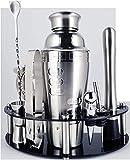 Bere Boston Shaker en Acciáio Inox Home Bar Tools 750/600 / 450ml Cocktail Shaker Set Bartender Kit Stand