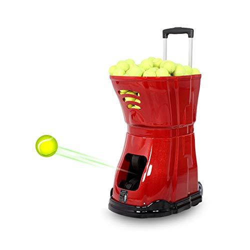Geräuschfreie Tennisballmaschine   100m Reichweite Der Fernbedienung   Verschiedene Servierarten, Rollbewegungen, Leichte Aufbewahrung Smart Tennistrainingsassistent