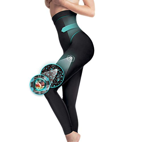 Générique Legging Minceur Taille Haute molletoné Galbant Gainant Anti-Cellulite Taille S M L XL XXL XXXL 34 à 52 (XXL/XXXL(48-52))