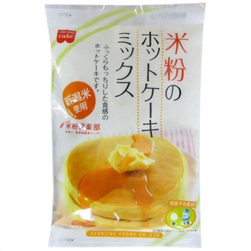 共立食品『米粉のホットケーキミックス』