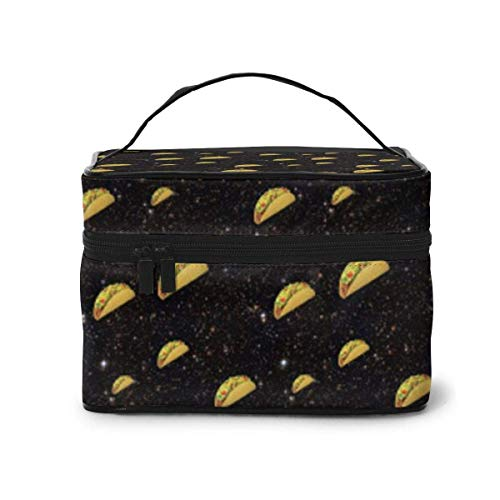 Hotdog Travel Cosmetic Case Organizer Portable with, Built-in Pocket, Multifunction Case Toiletry Bags for Women