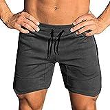 Coofandy Fitness-/Trainingsshorts für Herren, kurz geschnittene Jogging-Hose mit Tasche, für...