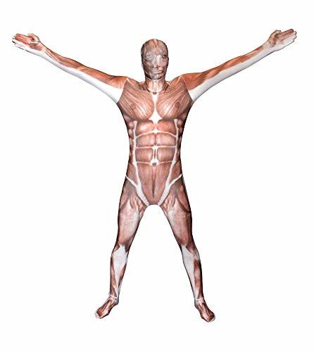 Morphsuits MPMSM - Kostüm Muskel, M