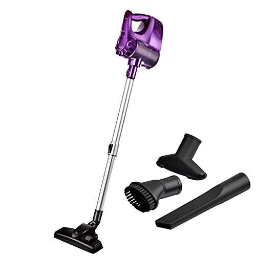 BAIVIN Geräuschloser 2-in-1-Staubsauger Auto-Handheld-Wireless-Staubsammler, einziehbarer aufrechter Kehrmaschine,Purple