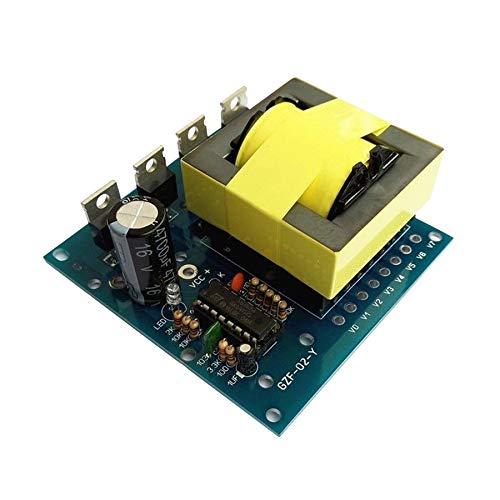 Viudecce Convertidor -AC Actualizado 12V A 220V 380V 500W Inversor Tablero Inversor Módulo de Potencia