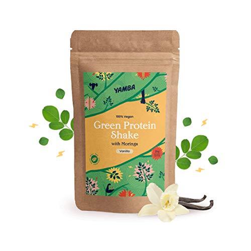 Protëine Shake Vanille - 100% Vegan - met Moringa (1kg)