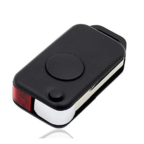 Nuevo reemplazo Flip 1 botón Remote Key Shell Case Fob para Benz Mercedes 1984-2004