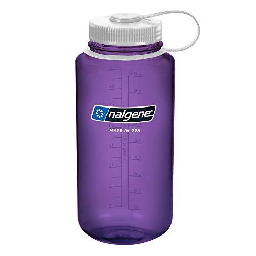 Nalgene Uni Wide Mouth 1L Trinkflasche, Violett, 1