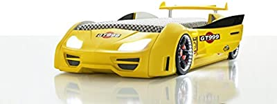Lambo GT Race Car Bed Finished in Yellow