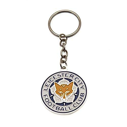Leicester City FC Crest Champions Keyring
