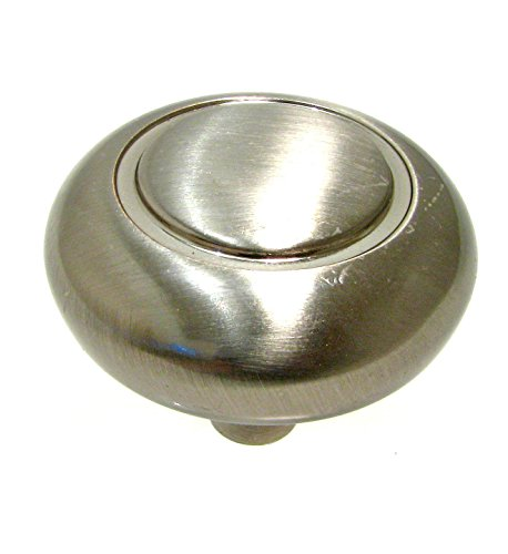 Richelieu Hardware - BP209195 - Traditional Metal Knob - 209 - Brushed Nickel  Finish