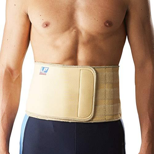 LP Support 715 magnetische Rückenbandage, Größe:Universalgröße, Farbe:natur
