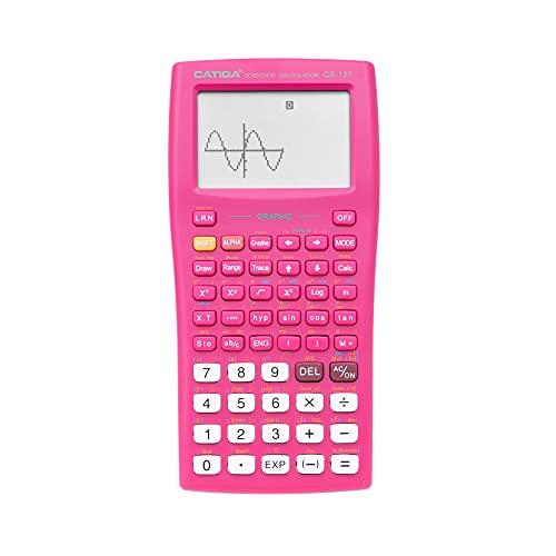CATIGA calculadora gráfica - cs121 - Ciencia y la ingeniería calculadora - Sistema programable (Rosa)