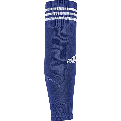 adidas Erwachsene Team Sleeve 18 Stutzen, Bold Blue/White, EU 40-42