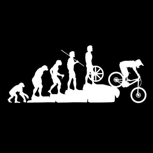 Bismarckber - Adesivi per auto, divertenti per mountain bike, riflettenti, per auto, per carrozzeria e finestrini
