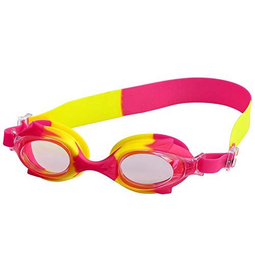 LLXHG Anti-Fog Goggles Leuke Kinderen Buiten Zachte Siliconen Zwembril Multi-Color Optioneel