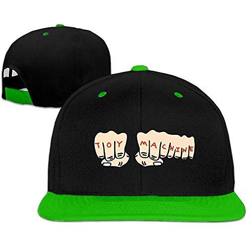 BallainB Baseball cap Hip Hop Hat Toy-Machine Skateboards Hat Red (5 Colors) Green