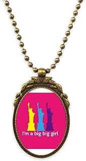English Classic Emotional Lyrics Women Antique Necklace Vintage Bead Pendant Keychain