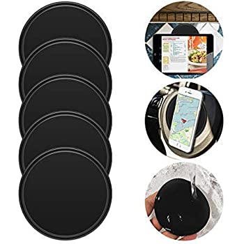 Sticky Gel Pads Multi Function Removable Anti Slip Gel Pad Magic Gel Mat Stick on Car Dashboard Glass Mirrors Metal Tile Walls Kitchen Cell Phone Stand Recipe Holder Non-Slip Mat Rug Pet Bows Pads fixate 4351483338