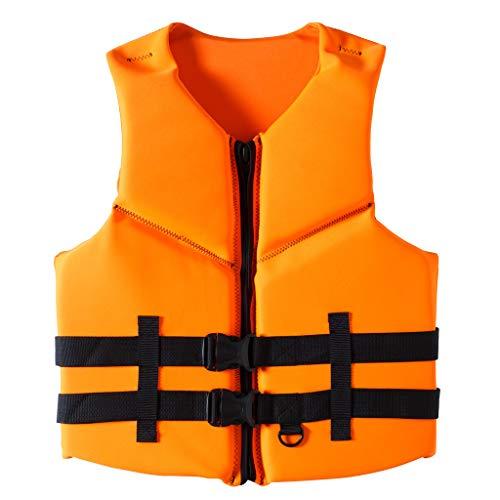 Pulley Traje de Neopreno de Neopreno,Comfort Chaleco Salvavidas,Deportes acuáticos Waterski Jetski Wakeboarding Safety Impact Vest,para Nadar Canotaje,Unisex