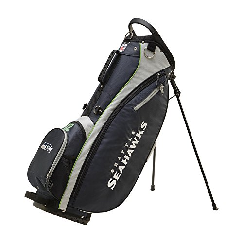 Wilson Sporting Goods 2018 NFL Carry Golf Bag Seattle Seahawks Navy 36quot x 135quot x 101quot
