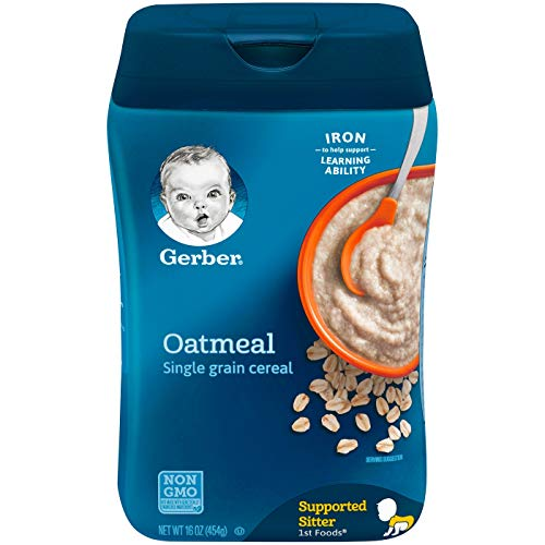 Gerber, Hafermehl Getreide, Single Grain, 8 oz (227 g)